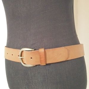 2/$15 Levis Brown 100% Full Grain Cow Leather Be…